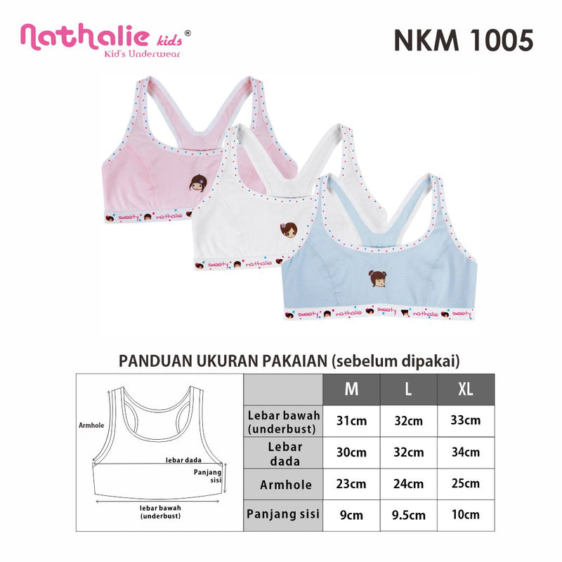 Nathalie Kids First Bra NKM 1005