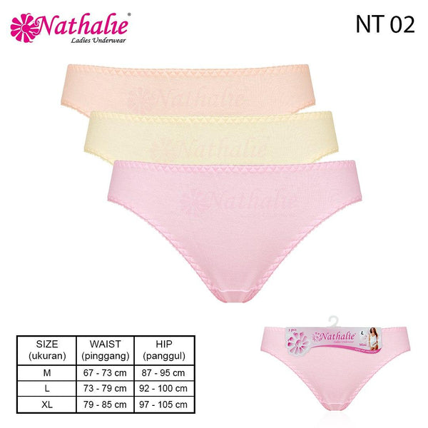 Nathalie official Mini Classic Banded NT 02 3 PCS