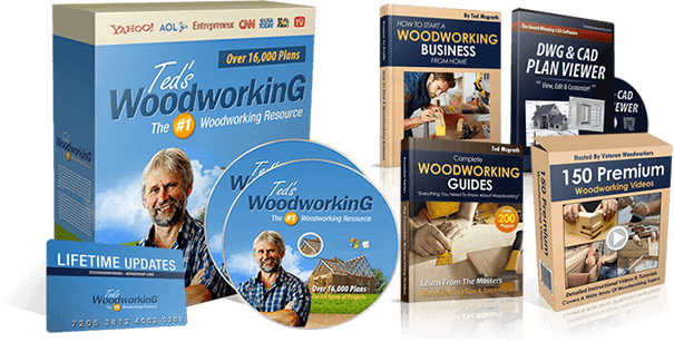 Is Ted's Woodworking a Scam Review alert