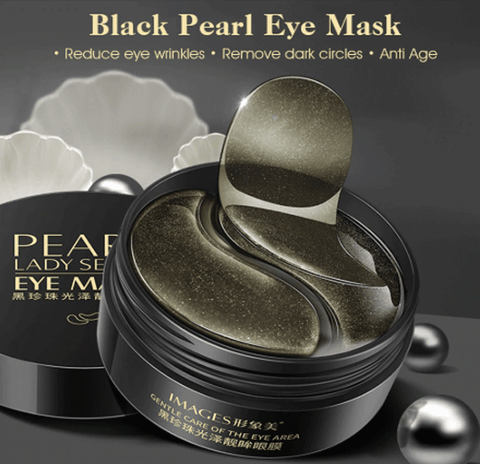 Black Pearl Collagen Mask for Dark Circles-pugnent.com
