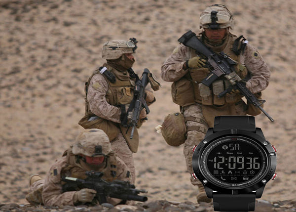 Invincible Military Inspired Tactical SmartWatch