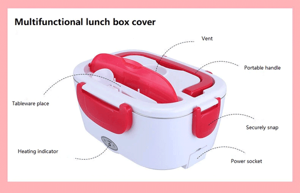 electric lunch box-Pugnent.com