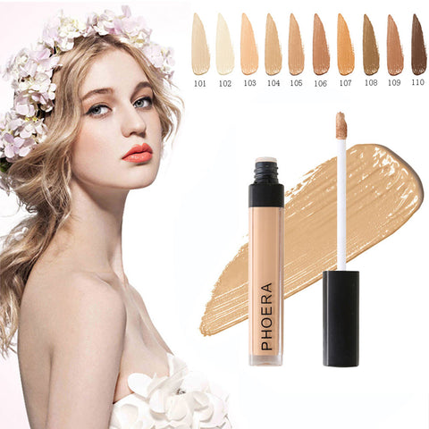 Phoera Foundation - 10 Color Best Liquid Foundation-pugnent.com