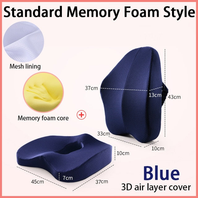 Orthopedic Seat Cushion For Hip and Back Pain-pugnent.com