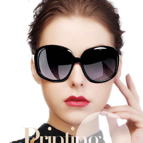 Retro Oval Shape oversized sunglasses for women-pugnent.com
