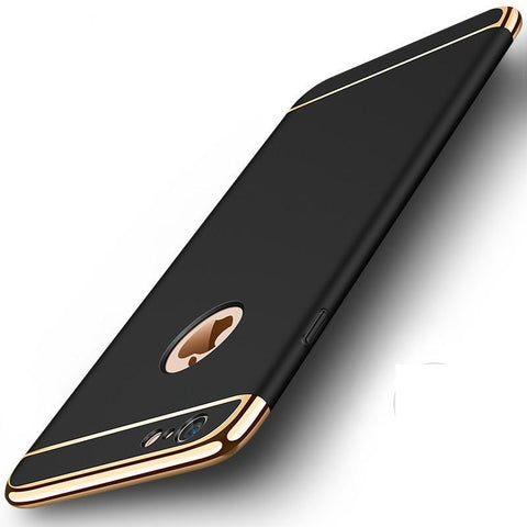 3 in 1 Luxury Hard PC iphone Cases-pugnent.com