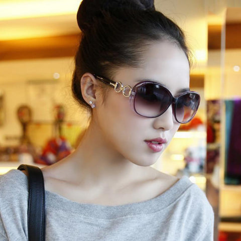 Retro oversized Sunglasses for women-pugnent.com