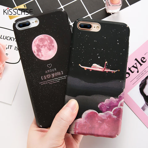 Starry Night Hard PC Matte iphone Cases-pugnent.com