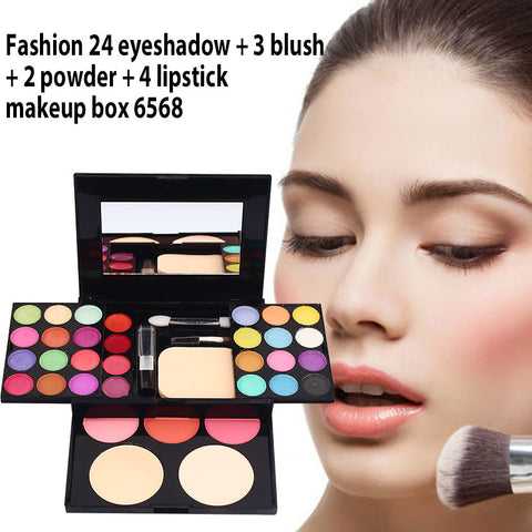 33 color Professional Makeup Set Box-pugnent.com
