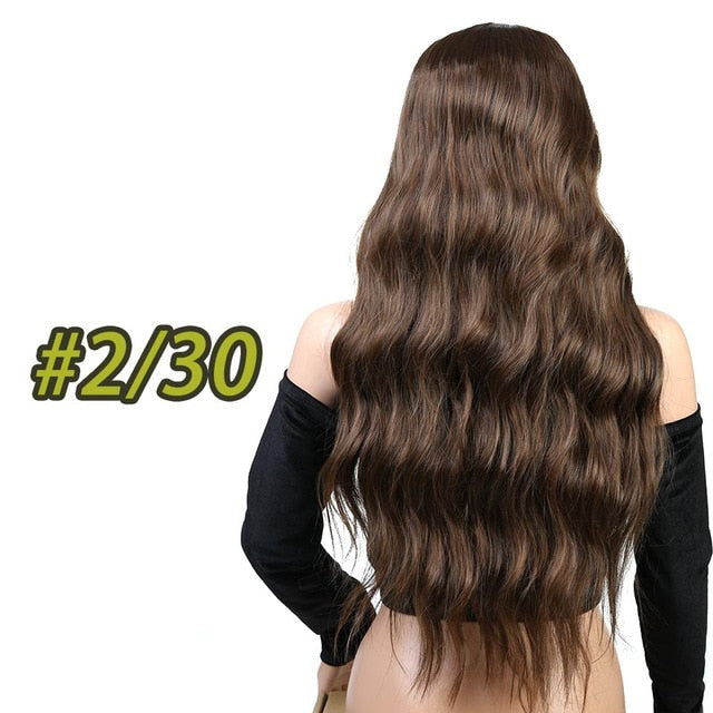 "Wigs For Women - 26"" Long Hair Wig for Women 60% OFF-pugnent.com"