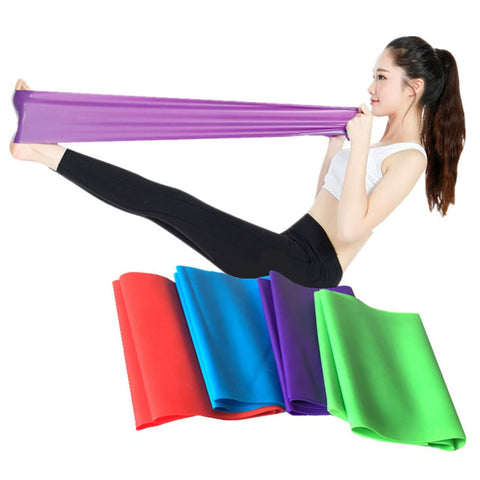 Yoga Resistance Rubber Bands Indoor Outdoor Fitness-pugnent.com