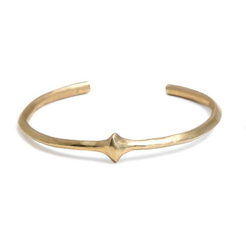 Diana Cuff in Brass