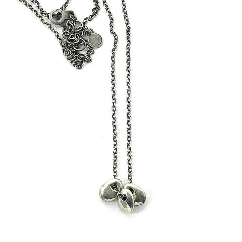 DREA PETITE NECKLACE TRIO IN SILVER