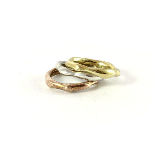 DAPHNE RINGS - STACK OF THREE