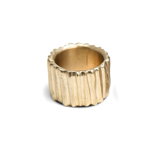 Atala Ring in Brass
