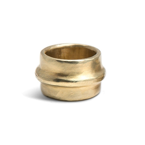 DIANA RING IN BRASS