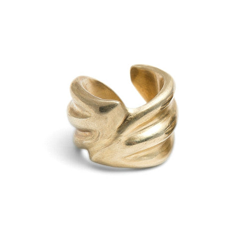 Floret Ring in Brass