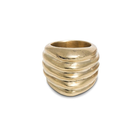 ISHTAR RING IN BRASS