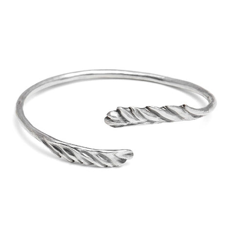 WINGED CUFF IN STERLING SILVER