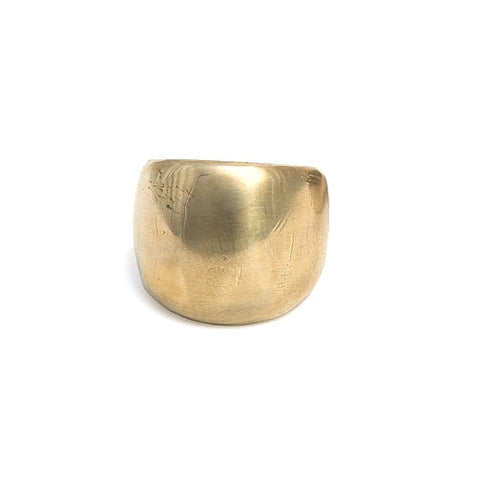 Zada Ring in Brass