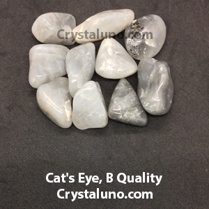 Cat's Eye, B Quality Tumbled Stones