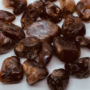 Natural Fire Agate Tumbled Stones
