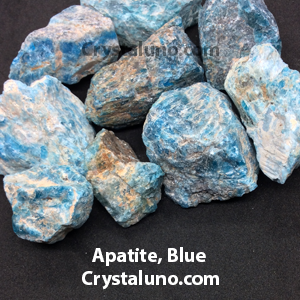 Apatite, Blue Rough Stones