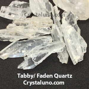 Tabular (Tabby)/Faden Quartz from Pakistan