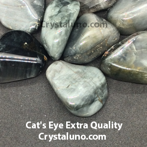 Cat's Eye, Extra Quality Tumbled Stone