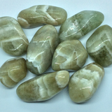 Quartz, Green (Prasiolite) Tumbled Stones