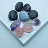 Bedroom Harmonization Crystal Kit (+FREE Selenite crystal)