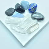 Stress & Anxiety Healing Crystal Kit (+ FREE Selenite crystal)