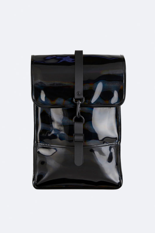 Рюкзак RAINS Holographic Backpack Mini, цвет 25 Holographic Black