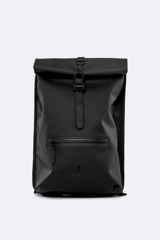Рюкзак RAINS Roll Top Rucksack, цвет 01 Black