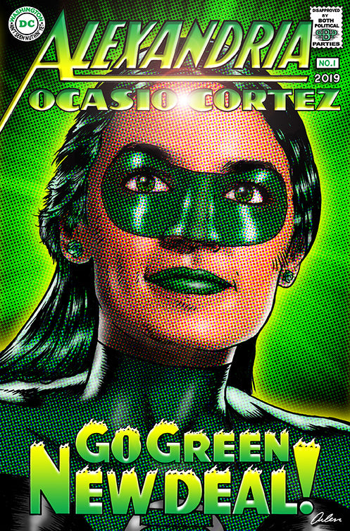 AOC: The Green (Lady) Lantern of Hope!
