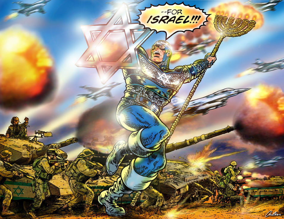 Captain Israel for Israel
