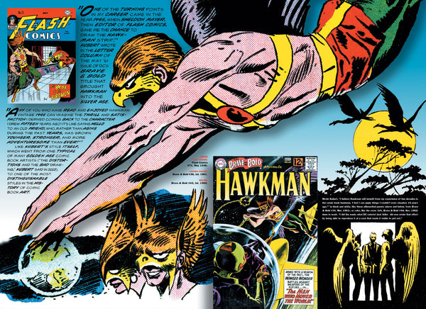 The Silver Age of Comic Book Art (Signed and sketched-in by the author)