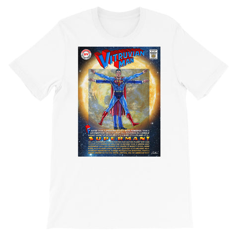 Super Vitruvian Man T- shirt