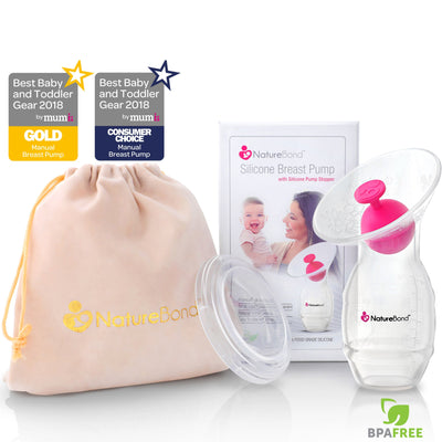 Silicone Breast Pump with Silicone Stopper