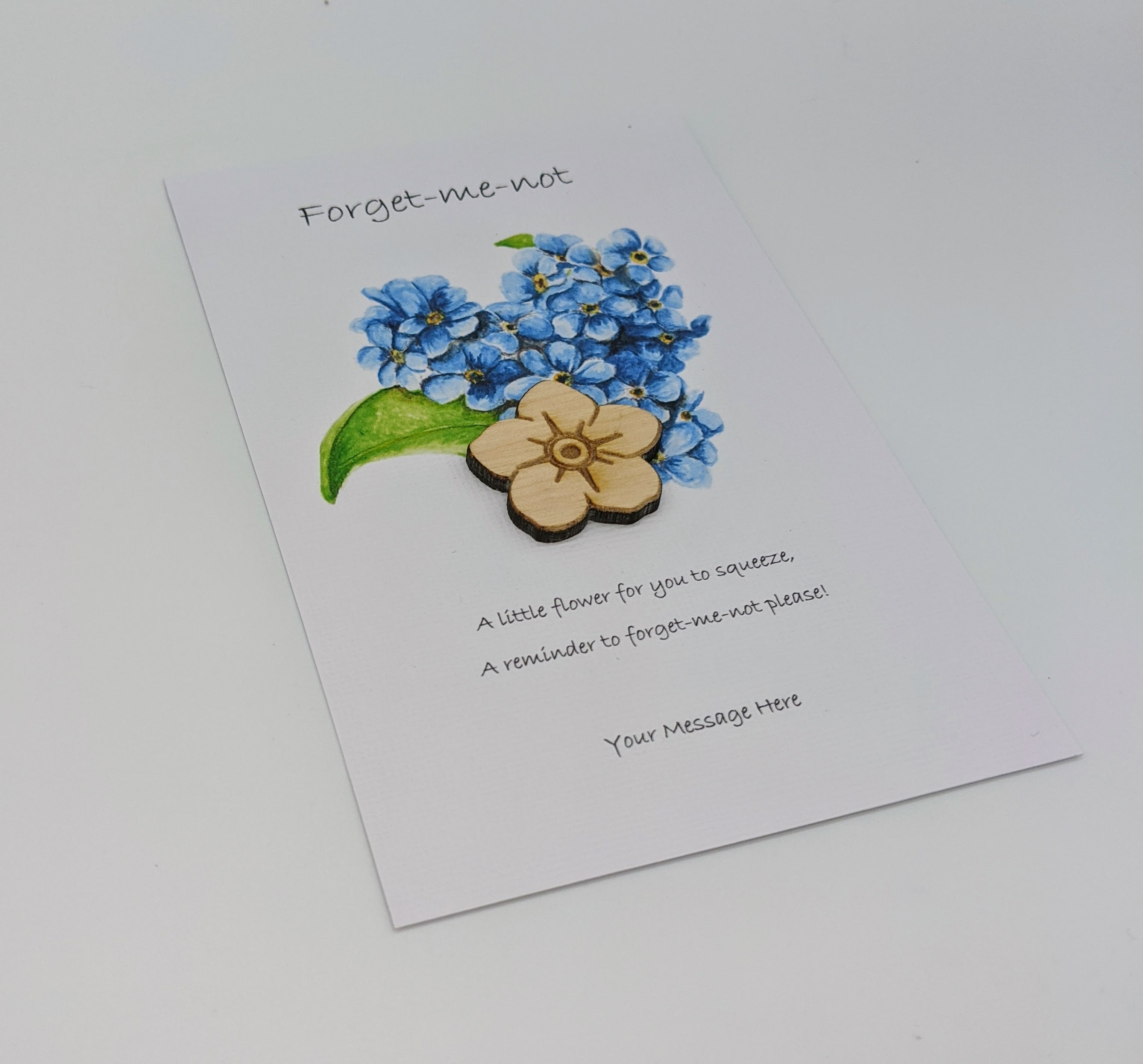 Forget Me Not Pocket Hug