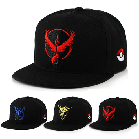 Pokemon Go Team Hats