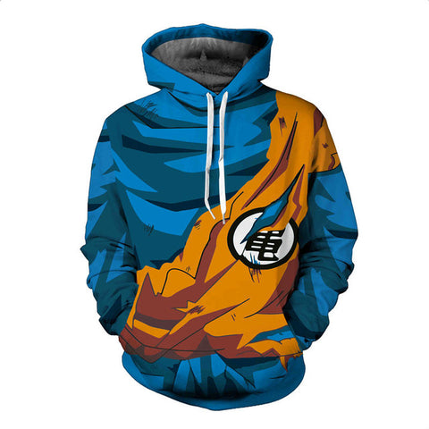 Dragon Ball Battle Damaged Hoodies