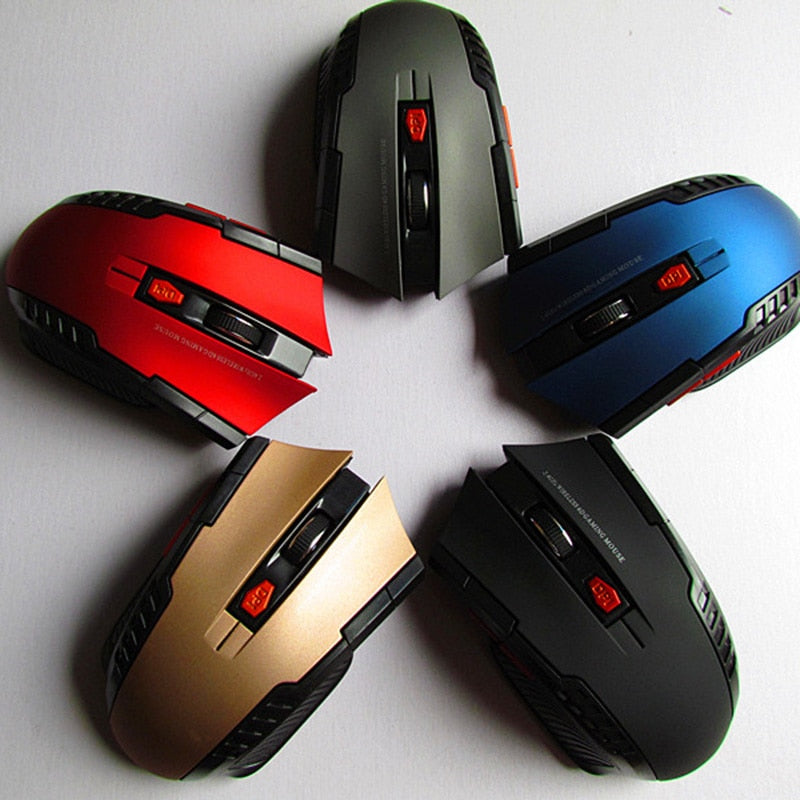 2 4GHz Wireless Optical Gaming Mouse – GeekNations