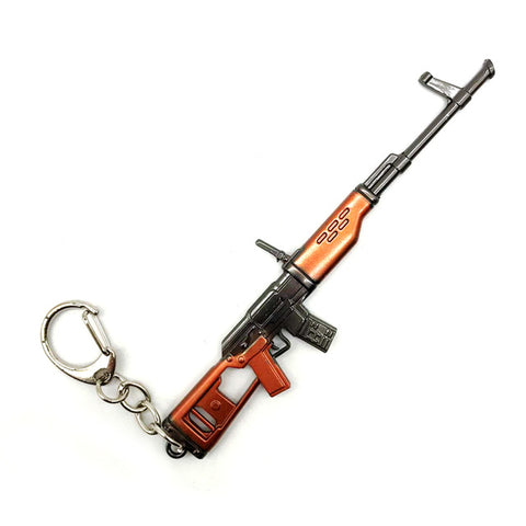 Gaming Weapon Keychains