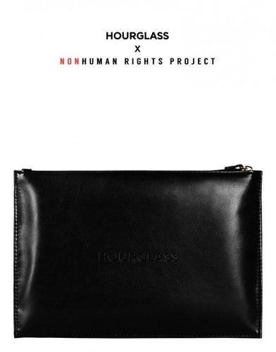 Vegan Leather Makeup Clutch