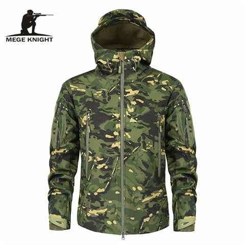 Mege Brand Clothing Autumn Men's Military Camouflage Fleece Jacket Army Tactical Clothing  Multicam Male Camouflage Windbreakers -  7accessories.com