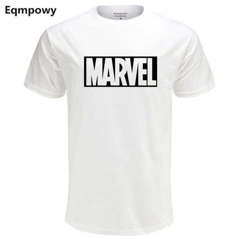 Eqmpowy 2017 New Fashion MARVEL t-Shirt men cotton short sleeves Casual male tshirt marvel t shirts men tops tees Free shipping -  7accessories.com