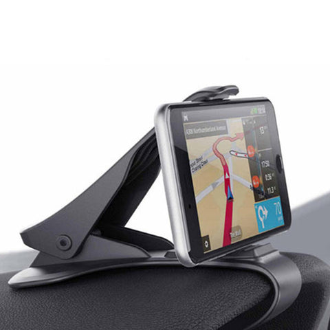 Car Phone Holder Easy Clip Mount Stand Car Phone Holder -  7accessories.com