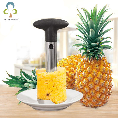 Knife Kitchen Tool Stainless Fruit Pineapple Corer Slicer -  7accessories.com