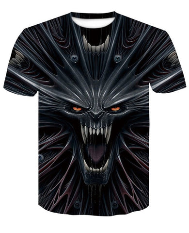 Newest Venom t-shirt 3D Printed T-shirts Men Women Casual Shirt Short Sleeve Fitness T Shirt Deadpool Tees Spider man Skull Tops -  7accessories.com